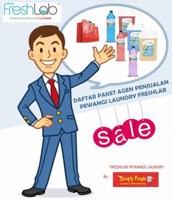 Paket Agen Penjualan Pewangi Laundry FreshLab