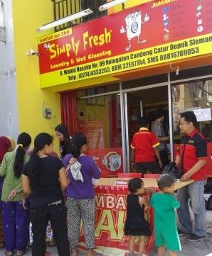 Bazaar Simply Fresh Laundry Berbagi Dengan Kaum Dhuafa_2
