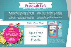 Brosur dan Proposal Penawaran Pewangi Laundry FreshLab Soft