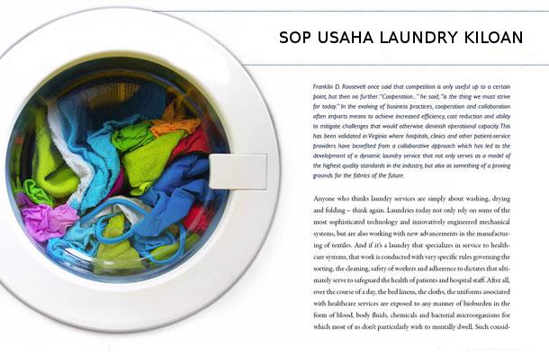 Standar Operasional Bisnis Laundry Kiloan