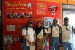 Pelatihan Usaha di Kantor Pusat Pewangi Laundry Yogyakarta