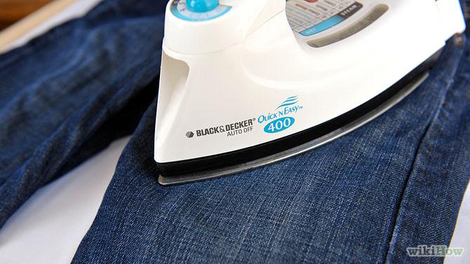 Cara Cepat Mengeringkan Celana Jeans