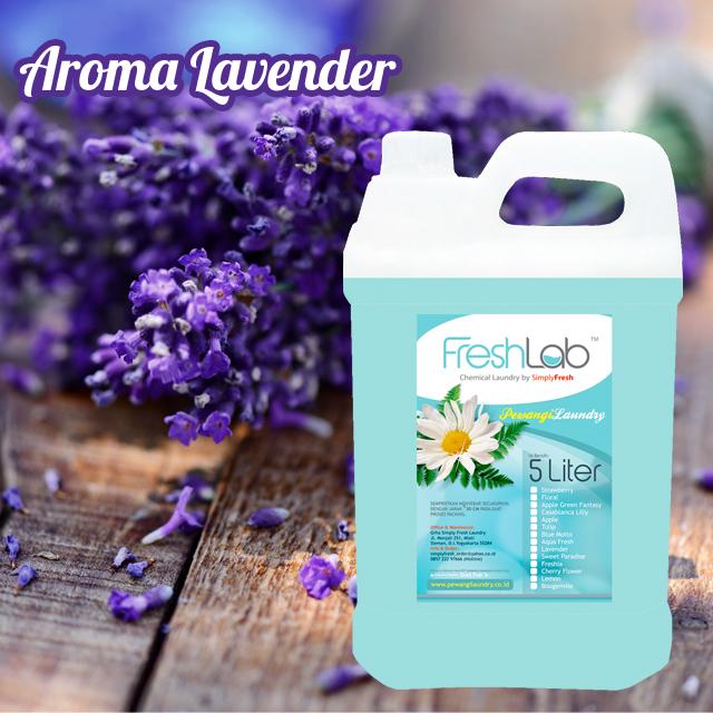 Parfum Pakaian Aroma Lavender - Pewangi Laundry